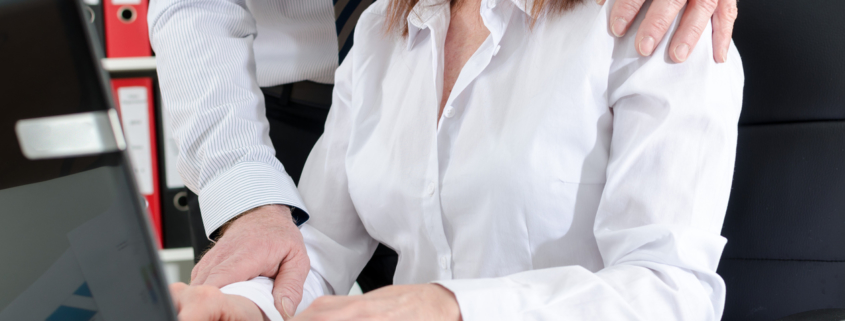 sexual harassment in the office - white-collar workplace